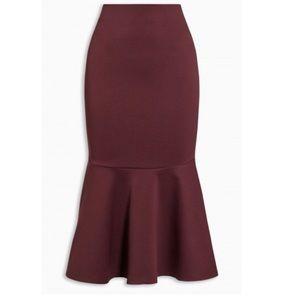 Dresses & Skirts - 🎉🌸HOST PICK 🌸🎉Berry peplum Skirt